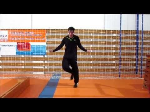 Handball Goalkeeper Training 2 - YouTube
