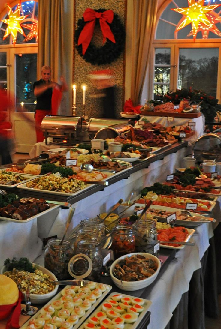 Svenskt Julbord (Swedish Smörgåsbord at Christmas time)
