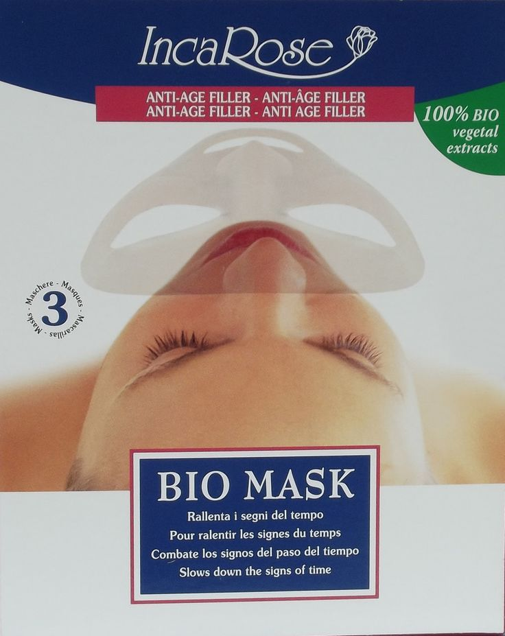 Tris Bio Mask Anti-Age FILLER - Perle di Bellezza...benessere online!