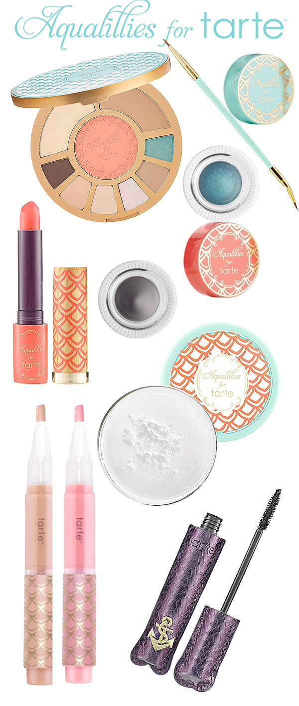 Summer 2013: Aqualillies for Tarte. - Home - Beautiful Makeup Search: Beauty Blog, Makeup & Skin Care Reviews, Beauty Tips