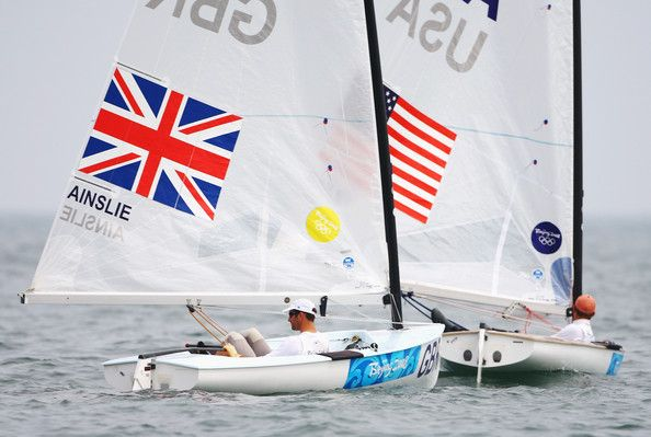 Olympic Sailing gets underway.