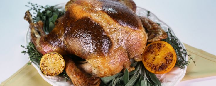 You don't to slave in the kitchen all day to enjoy a roast turkey, make Tyler's recipe today!