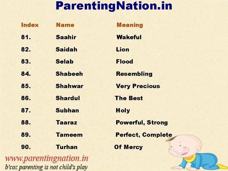 ParentingNation.in Provide You With Largest Resource Of Baby Name. List Contain Muslim Baby Boy Name  With Meanings. Pin The Best Name For Your Baby.