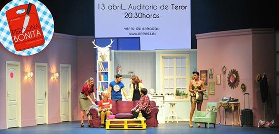 Espacio Clapso, Clapso Producciones, presenta el sábado 13 de abril, a las 20,30 horas, en el Auditorio de Teror, la obra 'Perdona bonita pero Lucas me quería a mí', que se encuentra de gira por el archipiélago.   Se trata de uno de los más recientes y exitosos montajes musicales de la compañía Clapso, que se repone ahora en Teror tras un rotundo éxito de público durante su estreno en el Teatro Cuyás el pasado mes de noviembre/2012.