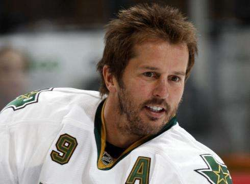 MIKE MODANO:    Modano holds the NHL record for most goals (561) and most points (1,374) by a U.S.-born player..  -  100 greatest players in NHL history  -  October 11, 2016