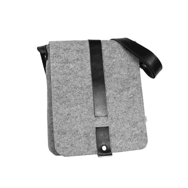 BOY felt bag (various colours) - Purol Design  BOY is a hand-made bag of felt and leather.