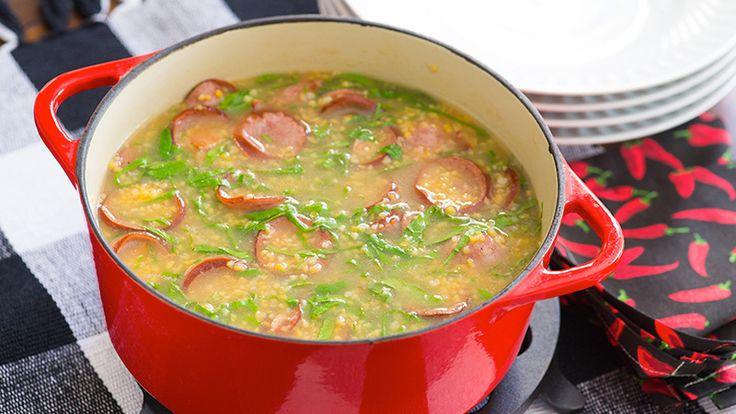 Sopa de Canjiquinha com Paio - Yoki