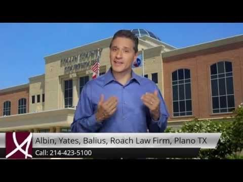 "http://www.aybrlaw.com 214-423-5100 Albin, Yates, Balius, Roach Law Firm, Plano TX reviewsMrs. Balius' background in family law and her prior experience with the State Attorney General's Office made her a perfect fit for my case! Within 15 minutes, Mrs. Balius managed to accomplish what I could not do in nearly two years. Her expertise and ""fighter"" spirit helped me to prevail, and I will forever be in her debt.Albin, Yates, Balius, Roach Law Firm, Plano TX5601 Granite Parkway Suite 400Plano…"