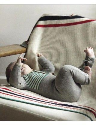 Guttelus FUB barneklær - Heldrakt i ull Gråmelert