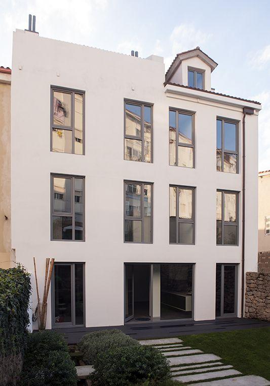 Piso Rehabilitación / equipoeme estudio #nolatipicafoto #jardín #diseño #interiorismo #rehabilitación #pozo #patio #fachada