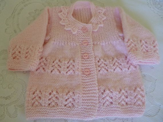 Sweety Baby Girl Outfit Four Pces Hypoallergenic Yarn by Pitusa