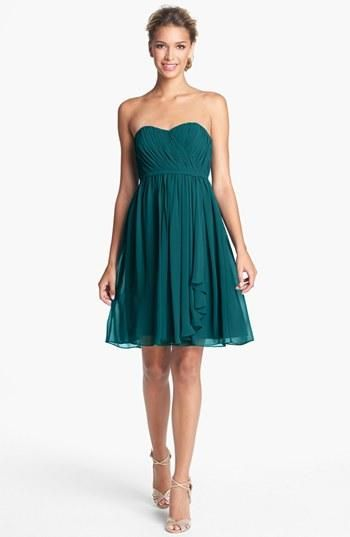 "Pretty shade of jade: Donna Morgan ""Lindsey"" dress"
