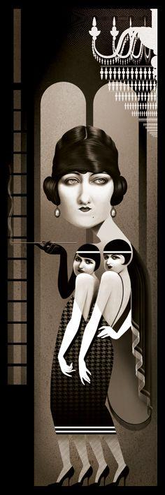 Gloria Swanson by Cristo Salgado