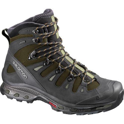 Salomon Men's Quest 4D 2 GTX Hiking Boots (Black/Bright Green, Size 9) - Men's Outdoor at Academy Sports
