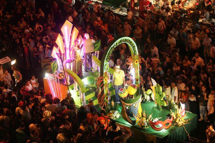 Carnaval de San Miguel. El Salvador,