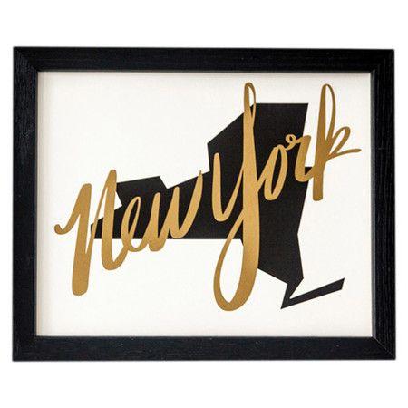 New York Framed Print  at Joss and Main