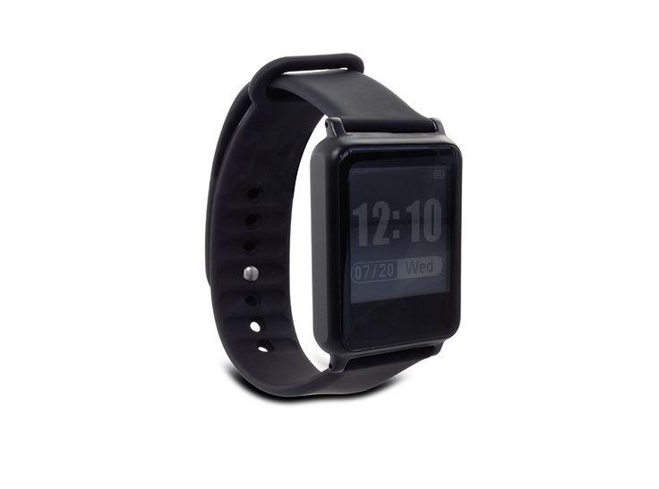 Smartwatch HEJU Beat: Activity-Tracking, Pulsmesser, individualisierbares Display, TPU-Armband.