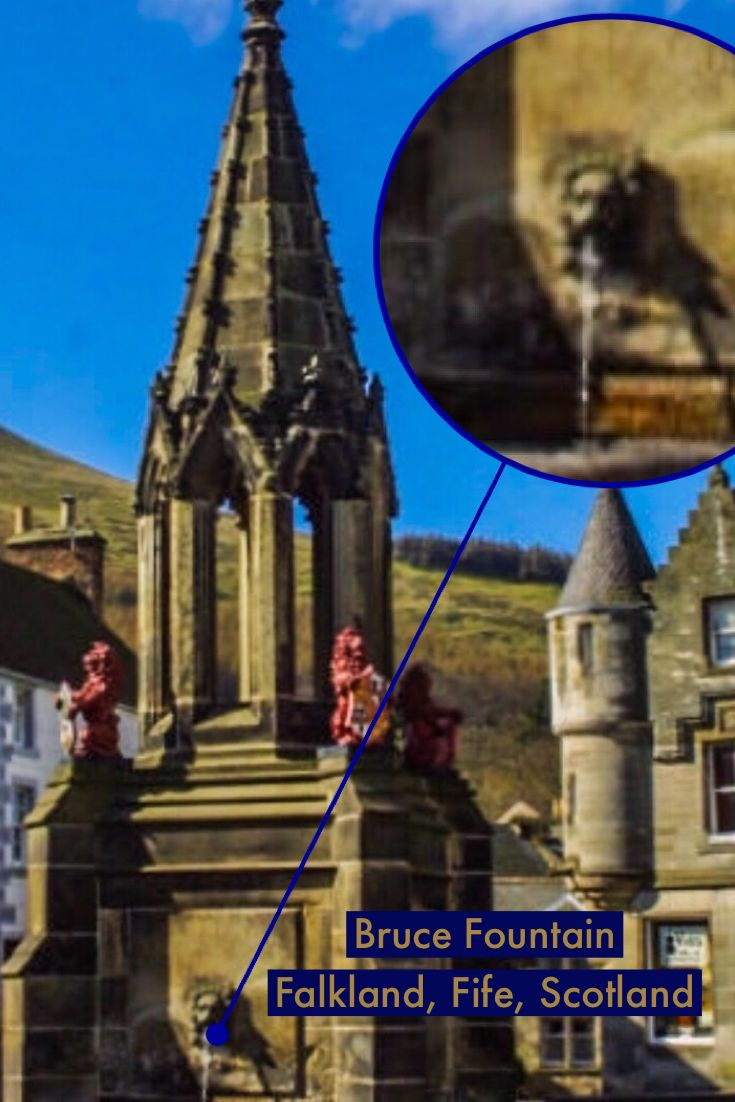 Bruce Fountain Falkland Fife Scotland Outlander Outlander Filming Locations Perfect Vacation Real Castles