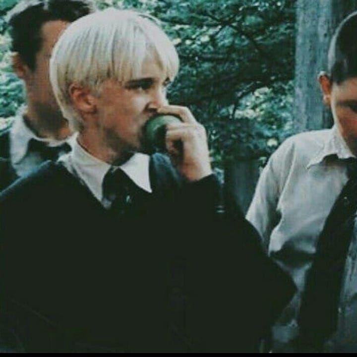 Oh To Be An Apple Draco Malfoy Dracomalfoy Harrypotter Slyth Harry Potter Bildschirmhintergrund Harry Potter Sammlung Harry Potter Hintergrund