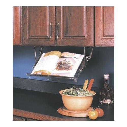 Pull Down Cookbook Rack: