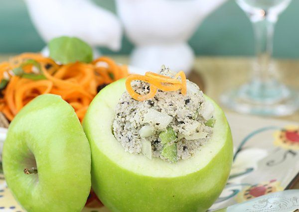 Raw tuna salad recipe | The Rawtarian