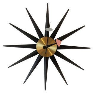 Vintage George Nelson Mid-Century Wall Clock