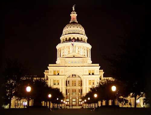 The tallest Capitol in the country (see, everything really IS bigger in TX!)