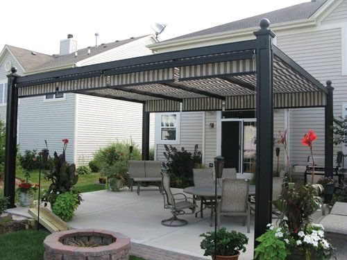 Backyard Awning Ideas diy outdoor awning Find This Pin And More On Backyard Shade Ideas