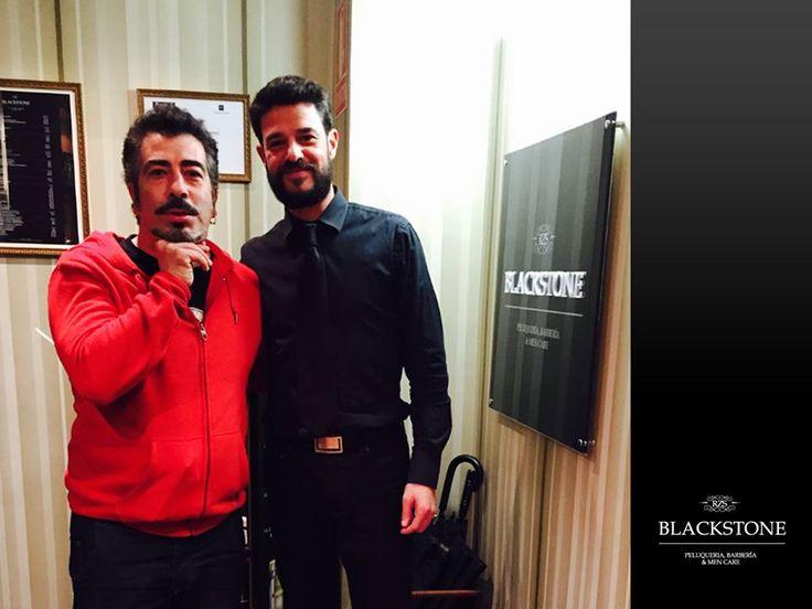 Agustín Jiménez cuida su #barba y #cabello en #Blackstone. http://www.blackstone-rzs.com/inicio.html #Peluquería #Barbería