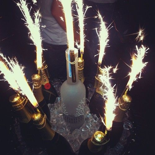 bottle service // with a sparkle