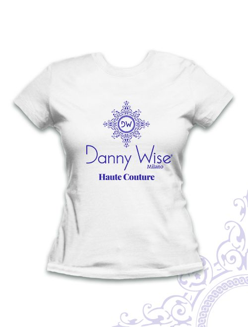 T.Shirt Danny Wise , Slim, 100% Cotton , printed by Hand in Italy , White on logo Blu-Wise  , since 1992    T.shirt for Collectionist and fan , very chic  . only in the official Stores Danny Wise