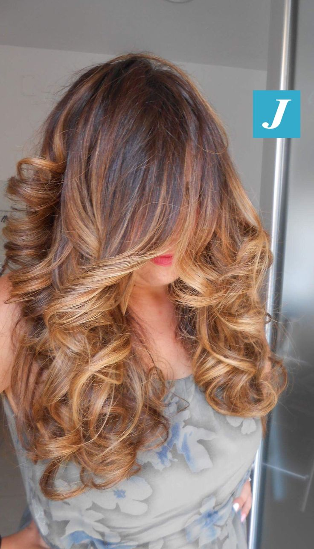 Le sfumature che hai sempre desiderato _ Degradé Joelle #cdj #degradejoelle #tagliopuntearia #degradé #igers #musthave #hair #hairstyle #haircolour #longhair #ootd #hairfashion #madeinitaly #wellastudionyc