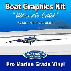 Best Boat Graphics Images On Pinterest - Decals for boats australia