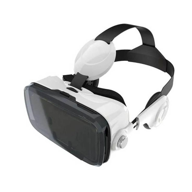 Reiko 3D VIRTUAL REALITY BOX (VR BOX) GLASSES FOR 3.5 TO 6 INCH PHONES WITH BLUTOOTH CONTROL IN BLACK