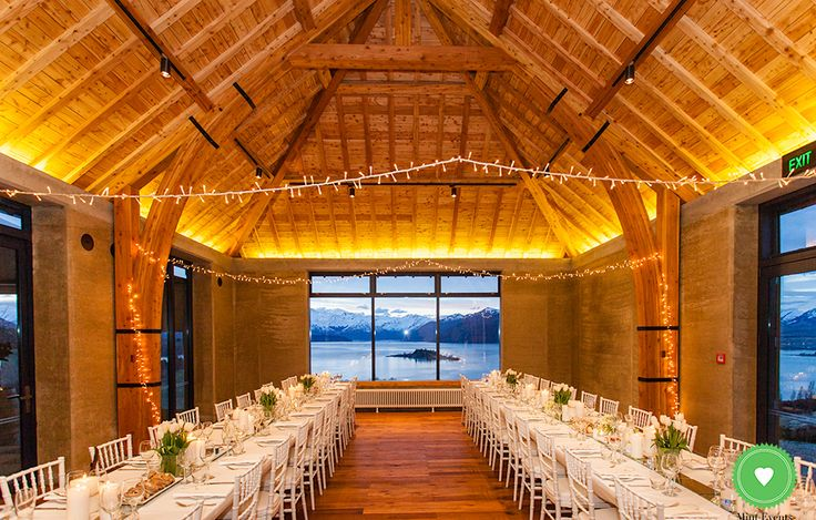 Rippon Hall, Wedding venue Wanaka South Island NZ - for more wedding venue ideas visit www.southernbride.co.nz and download the Southern Bride Venue Guide