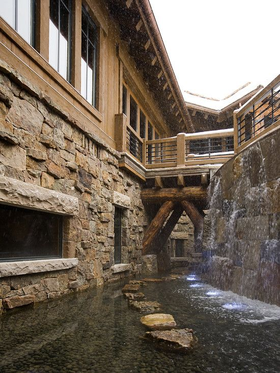 Moat . Mountain Ski Retreat . Billy Beson Company