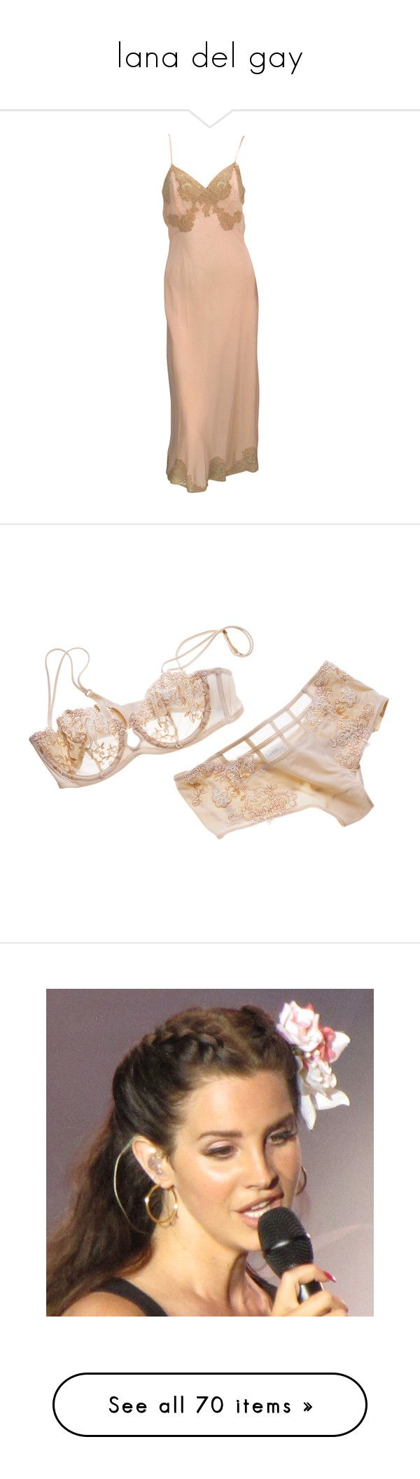 """""""lana del gay"""" by carolinehorann ❤ liked on Polyvore featuring intimates, shapewear, dresses, 1930s, lingerie, underwear, undergarments, wedding lingerie, sparkly lingerie and pictures"""