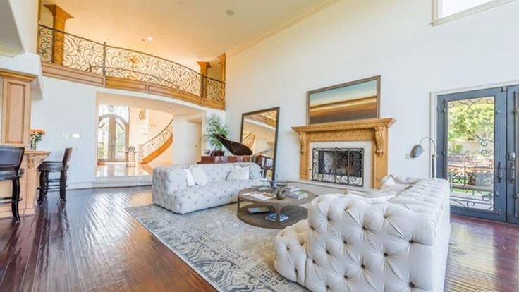 The French Normandy-style home in Encino was formerly owned by late Mexican-American singer Jenni Rivera.