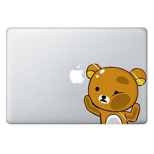 Rilakkuma trapped series for macbook laptop for Adesivi computer