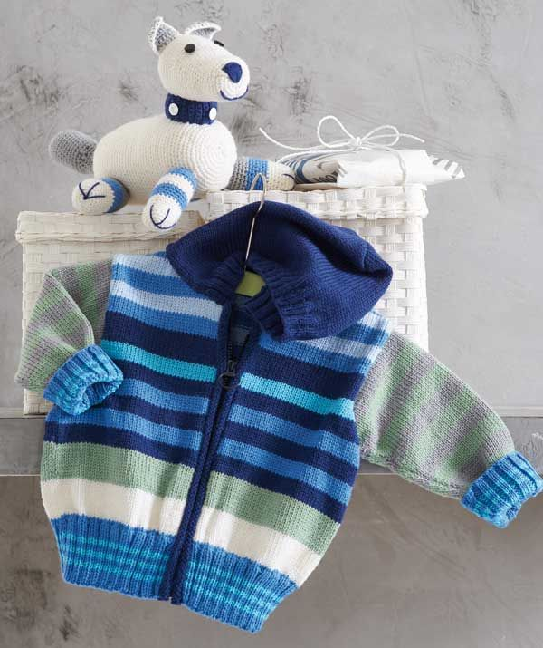 hooded baby jacket pattern