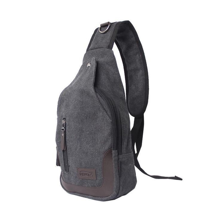 Men Travel bag Single Shoulder Bag School Cross Body Bag Canvas