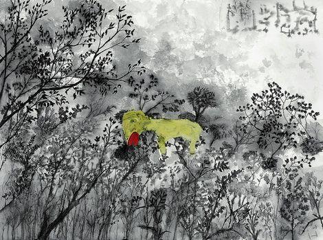 John Lurie, the Invention of animals on ArtStack #john-lurie #art
