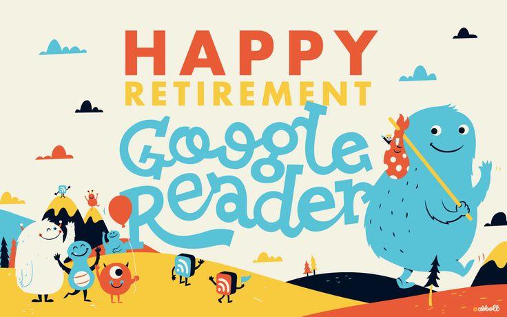 Happy Retirement Google Reader! (feedly,赞!)