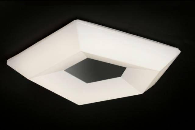ref 3767 COLLECTION CITY APPLIQUE/PLAFONNIER LED Ø 40 Cm. Injection plastique blanc 10 W 3000 k 1000 LM. Dimmenssions 40/8.2 cm au prix de 162.00 €.