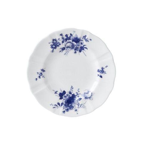 POSIE BLUE PLATE 6INCH
