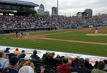 Take in an Iowa Cubs game in Des Moines! The Triple-A affiliate of the Chicago Cubs, play home games at Principal Park on the downtown Des Moines Riverwalk.