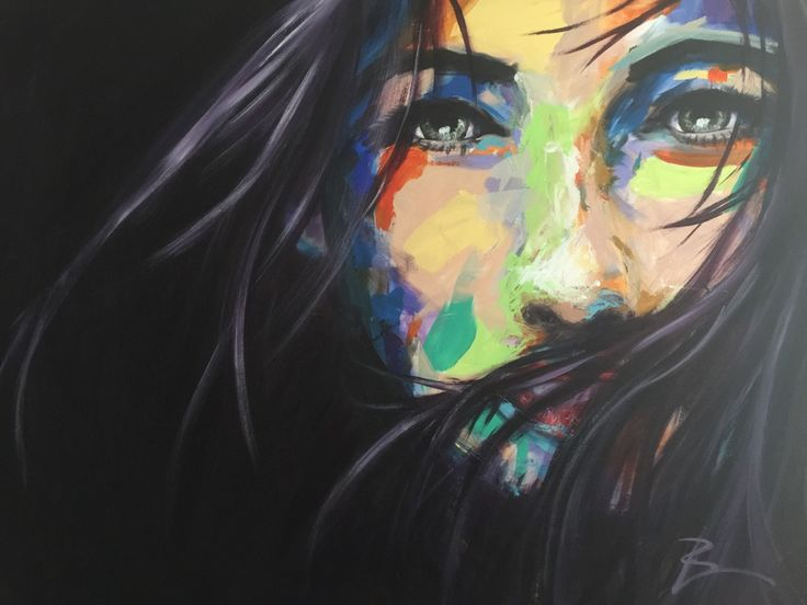 I love the movement in the hair in this painting. It brings it to life. I also enjoy the juxtaposition of the bright colours in her face with the cool green in her eyes. (scheduled via http://www.tailwindapp.com?utm_source=pinterest&utm_medium=twpin&utm_content=post55098884&utm_campaign=scheduler_attribution)