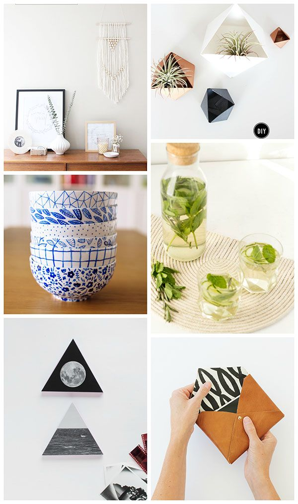 Simple and Modern DIYs to Try - Homey Oh My!