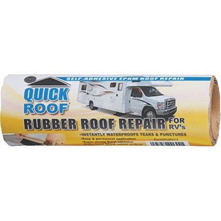 Quick Roof Instant Waterproofing for Rubber Roofs, Multicolor