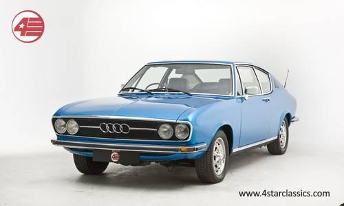 Als ich kam, musste er gehen: Audi 100 Coupe S (1973)